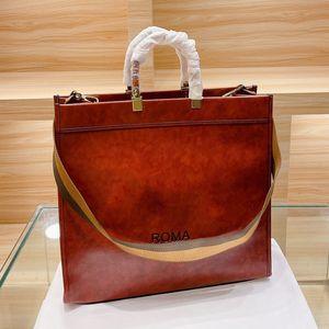 41 cm donne hangbags borsellino lettera f tote shopper borse signora grande borsa a tracolla ad alta capacità staccabile tracolla a tracolla a due colori
