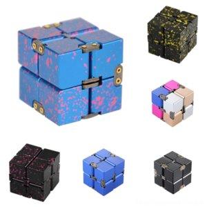 1OI9N fusion cube cube cube revêtement aluminium alliage d'aluminium d'infini cube rubik rubik's gear broché porté par décompression Sheldon Metal Cooper sur