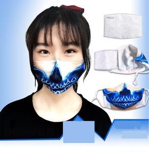 YEGO MI3F7 DALI T 셔츠 짧은 스타 순수한 유니섹스 탑 텔레 플레이 얼굴 인쇄 COLORFAST TEE 의류 소매 가운 마스크 면화 티셔츠