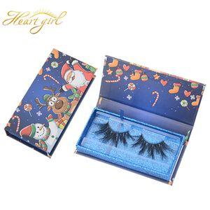 Christmas Gift 3D False Eyelashes 1 Pair Soft 12 Styles Long Thick Cross Natural Makeup Faux Eye Lashes Extension dhl free shipping
