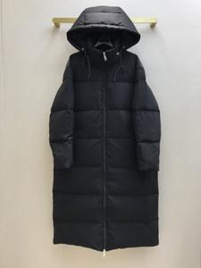 2020 Kış Kapüşonlu Beyaz Ördek Aşağı Marka Aynı Stil Mont kadın Lüks Aşağı Ceket Tasarımcı Aşağı Ceket 1211-1