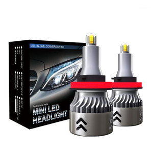Car Headlight Waterproof LED Headlight Bulbs 9005 HB3 H10 9006 HB4 H1 H3 H8 H9 H11 60W 9600LM 6000K Auto Headlamp Fog Light Bulb1