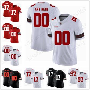 Custom Ohio State Buckeyes 45 Archie Griffin 27 Eddie George College Football Osu 150th сшитые Джерси 28 Ronnie Hickman 9 Джонни Юта