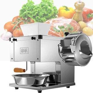 Slicer de viande multifonctionnelle en acier inoxydable Déchiqueteuse de végétation électrique Slicer Bureau de bureau