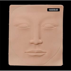 10шт 3D латекс постоянный макияж татуировки тренировочный практика фальшивая кожа пустые глаза губы лицо для микробладирования татуировки машины новичок
