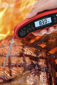 Digital Meat Thermometer Oven Safe with Dual Probe, Instant Read Food Thermometer with Backlight, Magnet, Auto Calibration Cooking FY2373