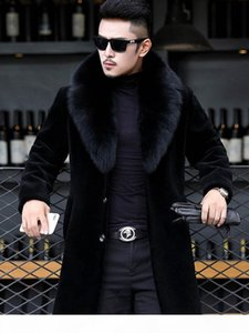 2020 Winter Mens Designer Jackets Hombres Warm Windbreaker Long Wool Blends Outerwears Coats Black Thicken Coat M-6XL