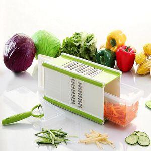 Slicer Vegetable Food Slicer Chopper Cutter Friut Tomato Grater Dicer Household Potato Chips Slicer Kitchen Grater