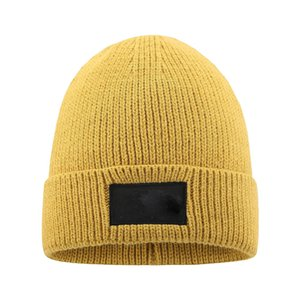 New Mens Beanie Winter Wool Hat New Fashion Womens Knitted Thicken Warm Polo Beanie Bonnet Cap FWF3242