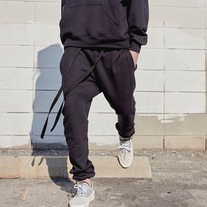Mens Pants High Street Pants for Men Reflective Sweatpants Casual Mens Hip Hop Streetwear Asian Size ZUEY