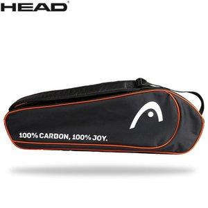 HEAD badminton bags Tennis Racket Bag Adluts Badminton Raquete Tactical sports Backpack Raqute De Tenis Big Bags For 1 3 Rackets