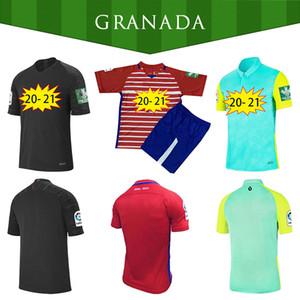 Hombres + Niños 2020 2021 Granada Soccer Jerseys L. Suárez Kenedy 20 21 Granada CF Hogar de Tercer Soldado Herrera Antonio Puertas Camisas de fútbol