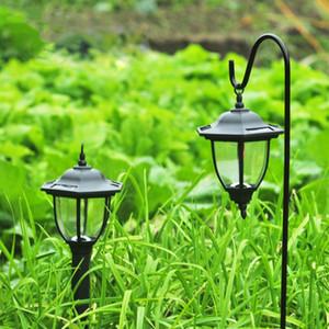 Solar Garden Light Wall Light Plug-in Light Eclairage extérieur Éclairage Imperméable Multifonctionnel Européenne Rétro Jardin Décoration de jardin LED Paysage Lawn