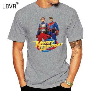 Neu Henry 위험 영웅 성인 어린이 유아 로고 S3XL 여름 O 넥 탑 디자이너 티셔츠 남자 그래픽 까마귀