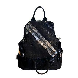 New European and American fashion backpack women's bag portable crossbody bags multi-purpose tote bag large-capacity backpack