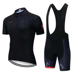 2021 New Cycling Jersey Sommer Männer Kurzarm Set MAILTOT ROPA CICLISMO Uniformen Schnelltisch Fahrrad Kleidung MTB-Radkleidung