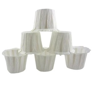 20 50 100Pcs Replacement Coffee Filters Disposable Cup-shaped Hand Drip Coffee Brewer Filter Paper Cup