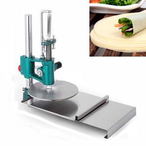 Pizza Dough Appuyez sur la machine de presse 18cm Pizza Dough Aplativement Presse à rouleaux à rouleaux Chapati Pressing Machine Presstry Pressier
