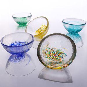 Gla Teetasse Kreative Hitzebeständige transparente Glas Teetasse 25ml 35ml 40ml Glas Kung Fu Cup Drinkware YYS2891