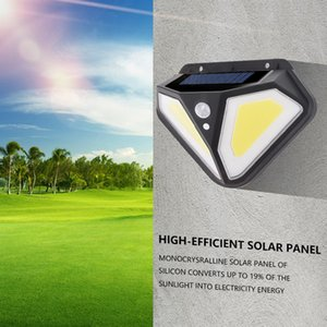 102 LED Solar Light Built in Battery Outdoor Lamp Powered Sunlight Waterproof Motion Sensor Street Light for Garden Decoration
