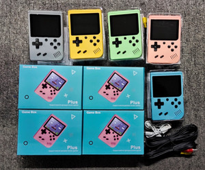 Portable Macaron Handheld Game Console Retro Video Game player Can Store 500 400 in1 Games 8 Bit 3.0 Inch Colorful LCD Cradle