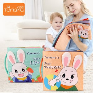 Baby Toys 3D Soft Cloth Books Infant Animals&Vehicle Development Cloth Books For Baby Development Educational Toy 0-12 Months LJ201116