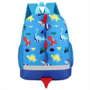 Backpack Baby Boys Girls Kid Dinosaur Pattern Animal Print Backpack Toddler School Bag mochilas feminina Mujer May16
