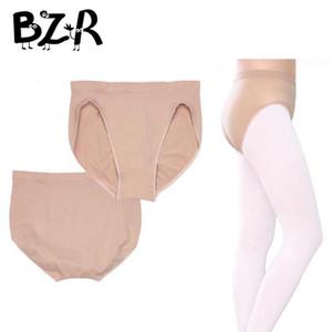 Menina Dança Underwear Profissional Nude Balé Briefs Underwear Algodão Spandex Ginástica Ginástica Aeróbica Ballet Calças para Dançamento