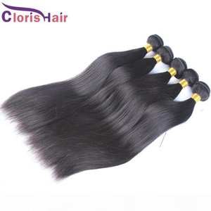 Decent Quality Soft Eurasian Hair Weaves Silky Straight Unprocessed European Remi Human Hair Extensions 3pcs Cloris Hair