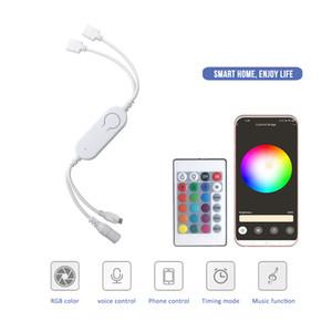 Hot selling waterproof LED Strip Lights RGB 16.4Ft 5M SMD 5050 DC12V-24V Flexible led strips lights 50LED meter 16Different Static Colors