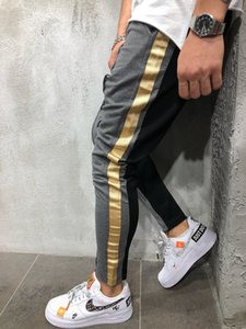 Men Pants Hip Hop Streetwear Fitness Joggers Trousers Mens Tracksuit Bottoms Skinny Men's Sweatpants Gyms Jogger Casual Pants X1116