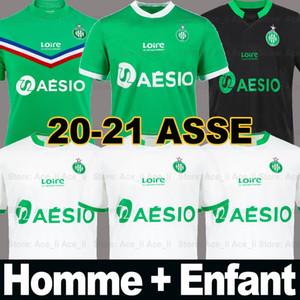 20 21 maillot ASSE maillots de foot BOUANGA KHAZRI AS Saint Etienne Saint-Étienne 2020 2021 ASSE Etienne DIONY YOUSSOUF BOUDEBOUZ HAMOUMA Homme Enfant Football shirts equipment