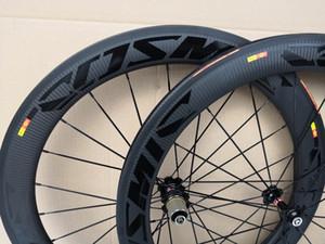 BOB Twill weave Mavic cosmic 700C 60mm depth road bike carbon wheels 25mm width clincher carbon wheelset with A271 hub free shipping