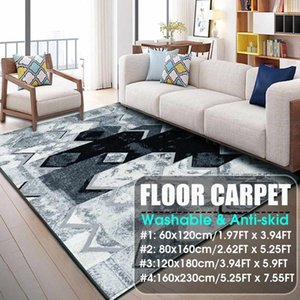 NEW Nordic Carpets Soft Fiber 3D Printed Abstract Modern Rugs Parlor Mat Rugs Anti-slip Large Rug Carpet for Living Room Decor