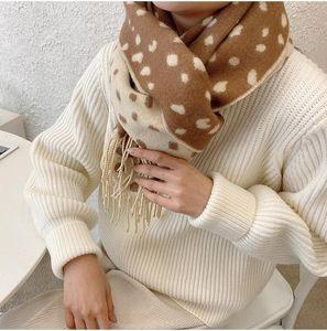 Новая Leopard платков Женской девушек шерсть сатиной площадь шарфы Офисы мода Глава шаль