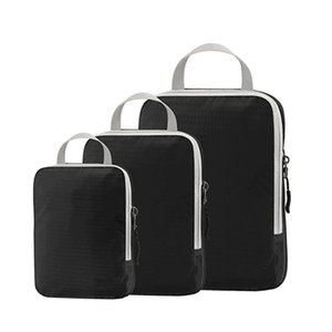 Compressed Luggage Storage Bags 3-piece Portable Travel Luggage Bag Whole Set Waterproof Clothes Storage Bag Organizer VT2010