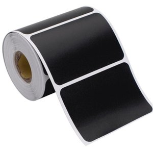120 stickers roll Waterproof Label Stickers Black Label Sealed Jar Storage Product Kitchen Sticker Blackboard Labels Stickers