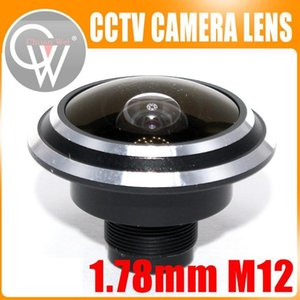 Metal 1.78mm and 2.0mm lens wide Angle fisheye lens 150 degrees of entrance guard For cctv camera Free shipping1