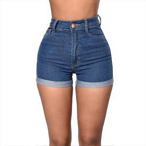 Casual Skinny Denim Womens Short mujer High Waist Shorts Jeans Summer Shorts For Womens Pockets Design pantaloncini donna
