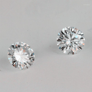 Offer The Certificate Test Positive IJ Color Round Brilliant Cut 1ct 6.5mm VVS Clarity Lab Grown Moissanite Diamond For Earring1