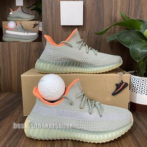 Erkek Koşu Ayakkabıları Kadın Spor Sneakers Kanye West YeCheil Yeezreel Hiperspace Lundmark Antlia Statik Yansıtıcı Zebra