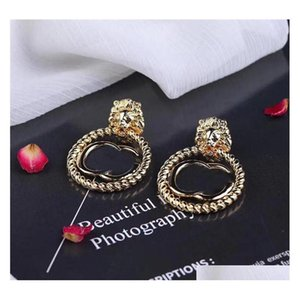 Fashion Retro Earrings Studs Retro Letters Designer Earrings Women Brand Earrings Studs Gift For Party Anniversary Eeqer