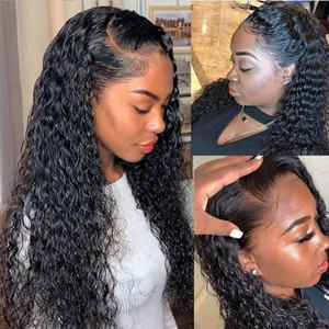 Lace Front Human Hair Wigs for Black Women Deep Wave Curly Hd Frontal Bob Wig Brazilian Afro Short Long 30 Inch Water Wig Full13523