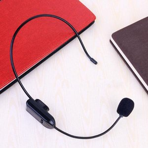 Wireless Microphone Radio FM Headset Handsfree Megaphone Mic For Loudspeaker Teaching Tour Guide Sale Promotion Lectures Meeting