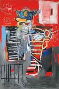 JEAN-MICHEL BASQUIAT HOME DECOR Hand-painted oil painting On Canvas Wall Art Pictures , F201208