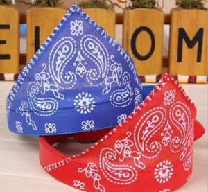 Wholesale-adjustable Dog Cat Pet Puppy Bandana Scarf Floral Print Pet Pu Collar Neckerchief Pet Supp sqcHJG dh_seller2010