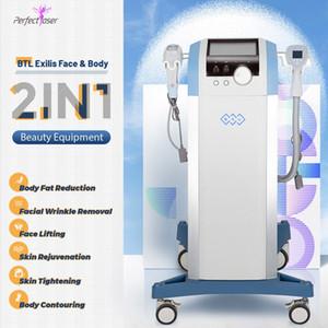 High Quality 2 IN 1 BTL Face Lift Skin Rejuvenation best BTL Weight Loss Body Contouring Equipment