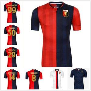 2020 2021 Gênes Cricket Soccer Jerseys 10 Gumus 11 Kouame 20 Schone Romero Sturaro Sturaro Pinamonti T.Sanabria Custom Accueil 2021 Shirt de football