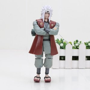 14cm Naruto Uchiha Sasuke Namikaze Minato Hatake Kakashi Gaara Jiraiya PVC Action Figure Toy Model Carnival Gift Free Shipping