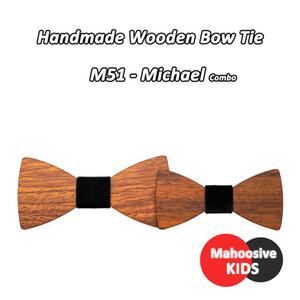 Best Man Groomsmen Groom Wood Suit Bowtie Child Man Wedding British Female Children Kids Wooden Bow Ties Cravat Combo Q sqcGXJ